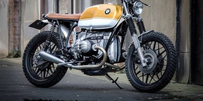 BMW R80 Gold Top