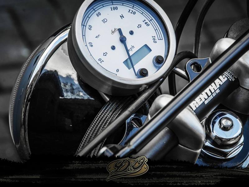 BMW R80 Gold Top Quadro Strumenti