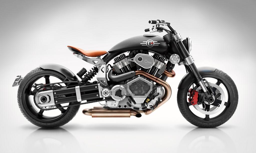 Confederate X132 Hellcat Speedster Lato