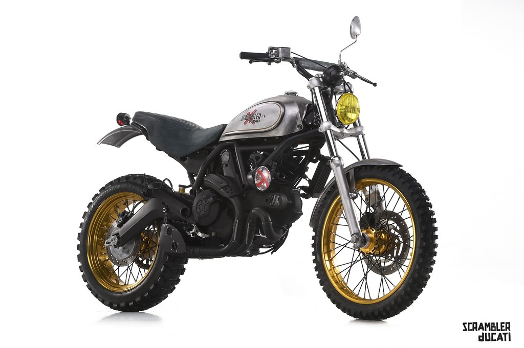Ducati Scrambler Special Officine Mermaid Scratch