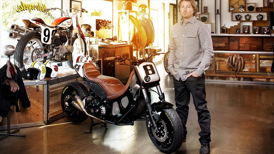 Yamaha TMAX Hyper Modified Roland Sands Factory