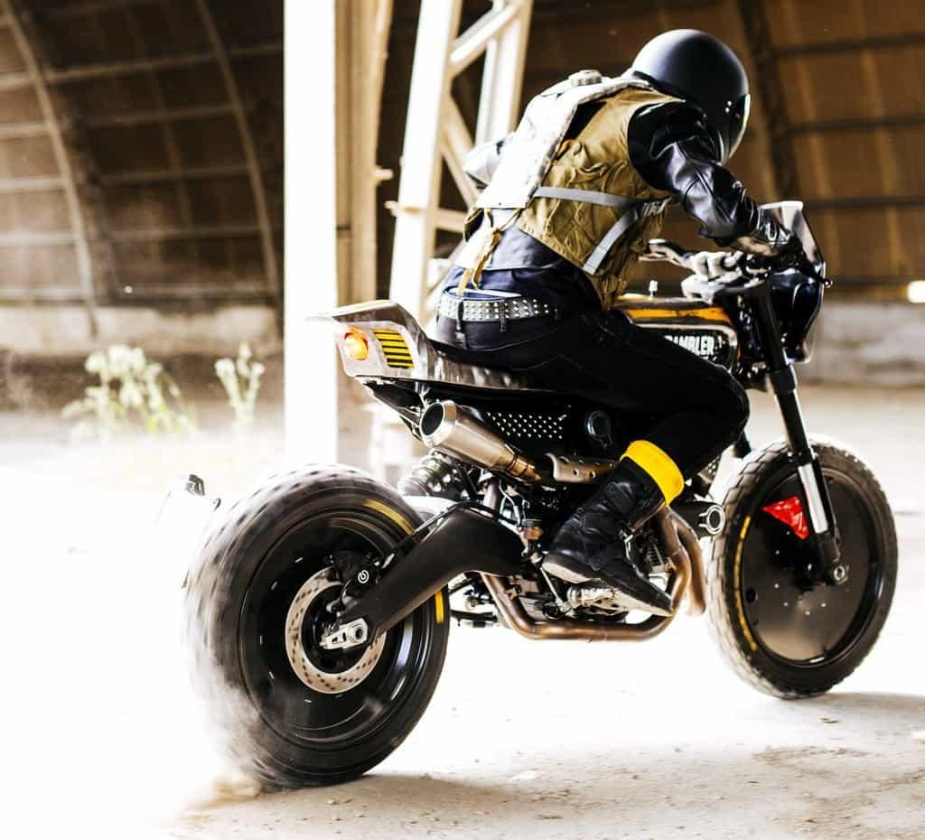 Ducati SC-Rumble Vibrazioni Art Design Derapata