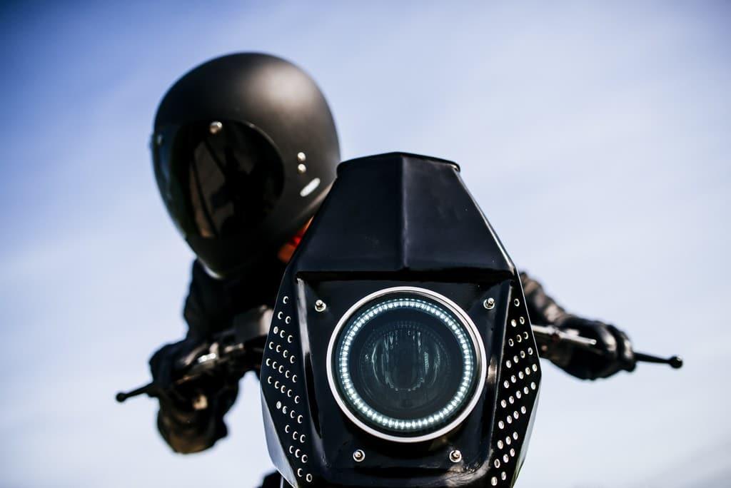 Ducati SC-Rumble Vibrazioni Art Design Fanale