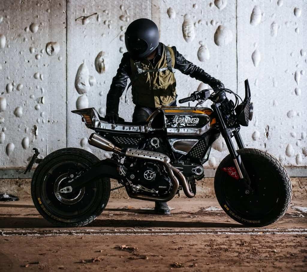 Ducati SC-Rumble Vibrazioni Art Design Lato