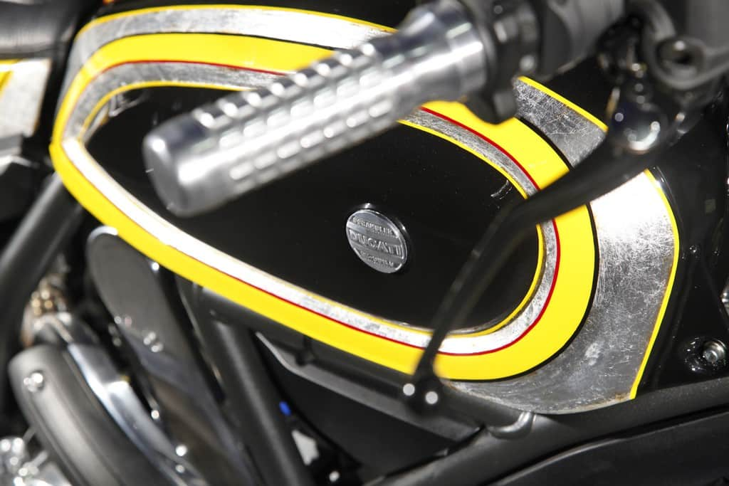 Ducati Scrambler Radikal Chopper Serbatoio