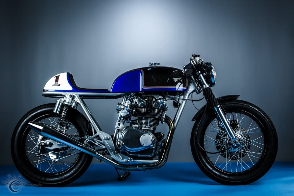 Honda CB500T 1975 Abigail by Hot Sake Cycles Lato