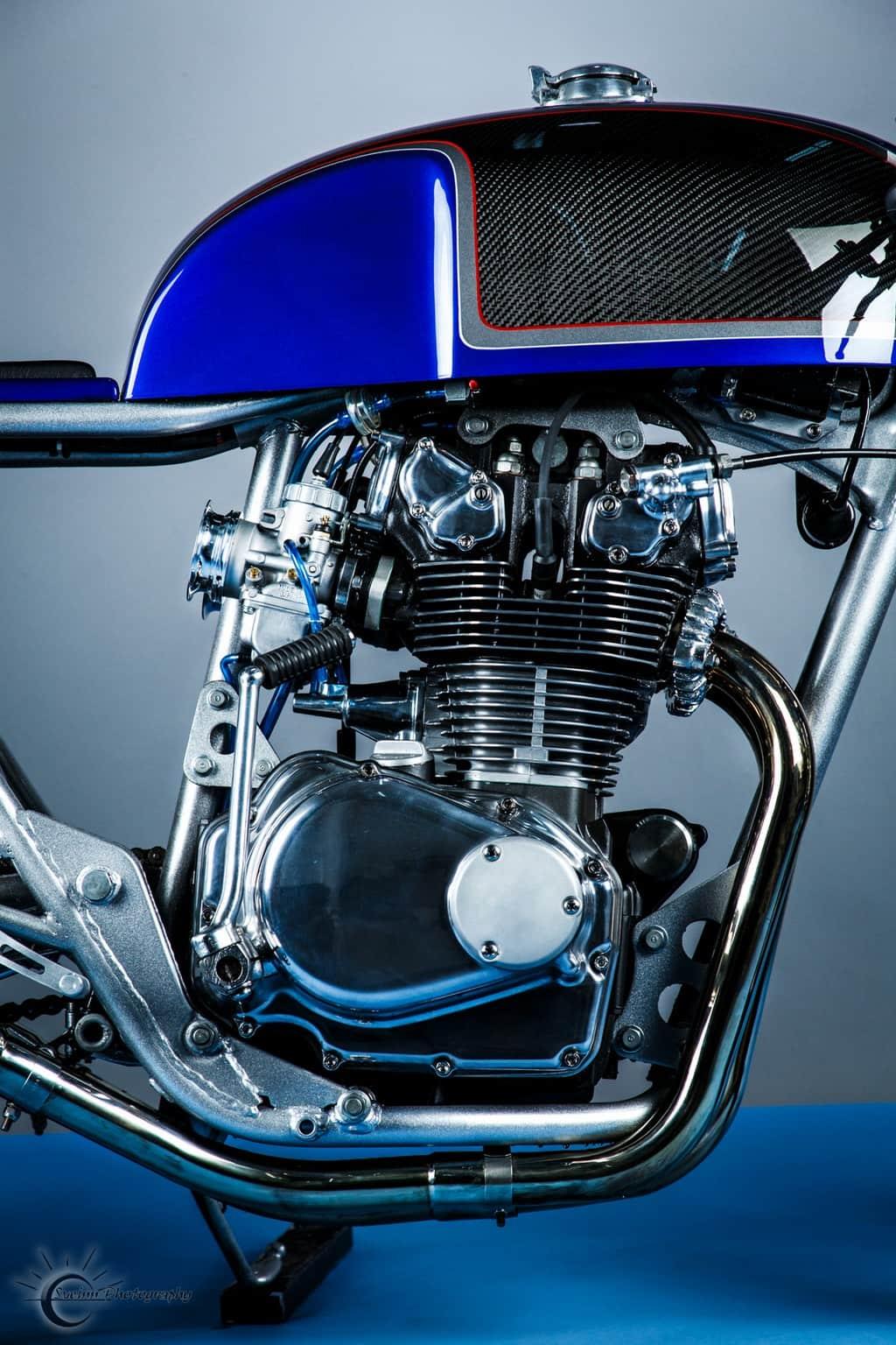 Honda CB500T 1975 Abigail by Hot Sake Cycles Motore