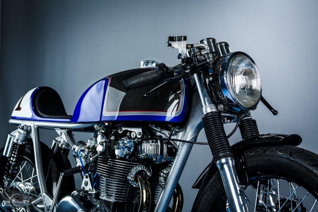 Honda CB500T 1975 Abigail by Hot Sake Cycles Serbatoio