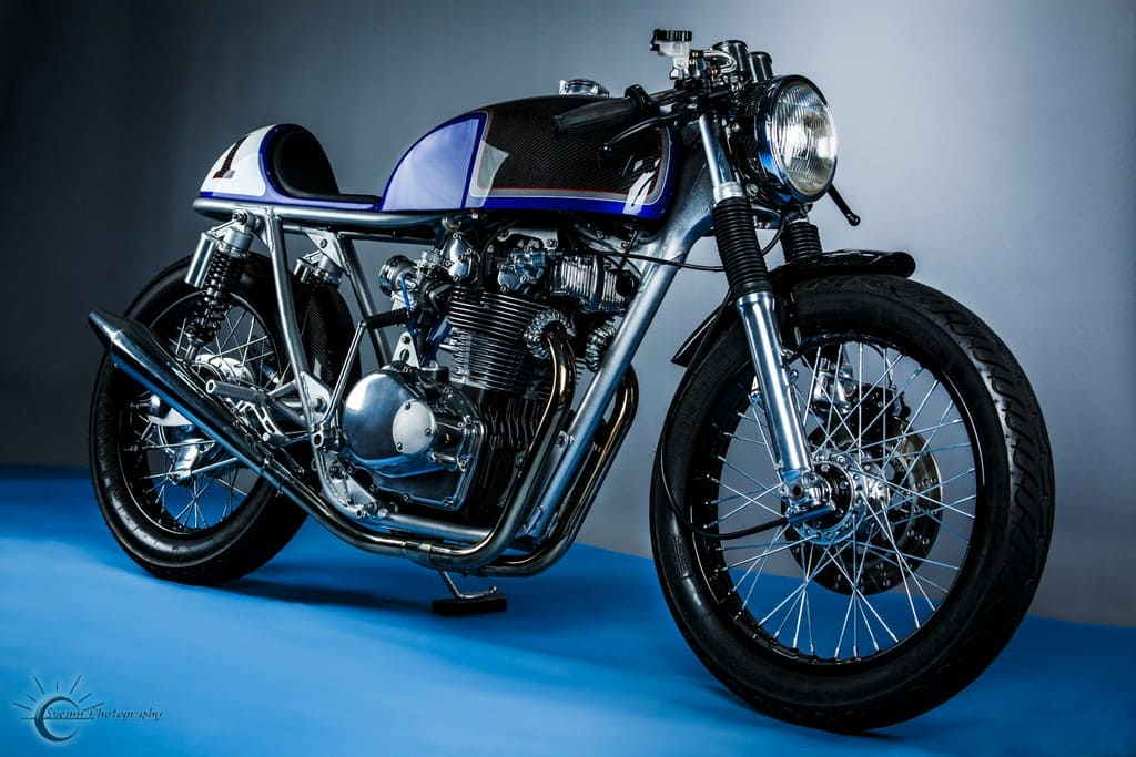Honda CB500T 1975 Abigail by Hot Sake Cycles
