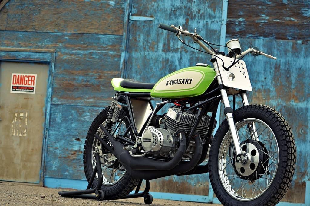 Kawasaki S1 Flat Tracker 01