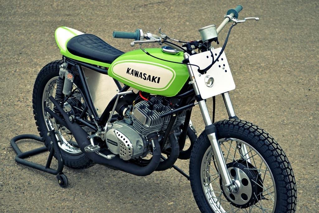 Kawasaki S1 Flat Tracker 05