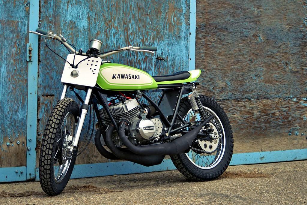 Kawasaki S1 Flat Tracker 06
