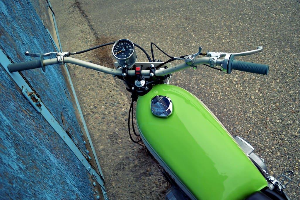 Kawasaki S1 Flat Tracker 07