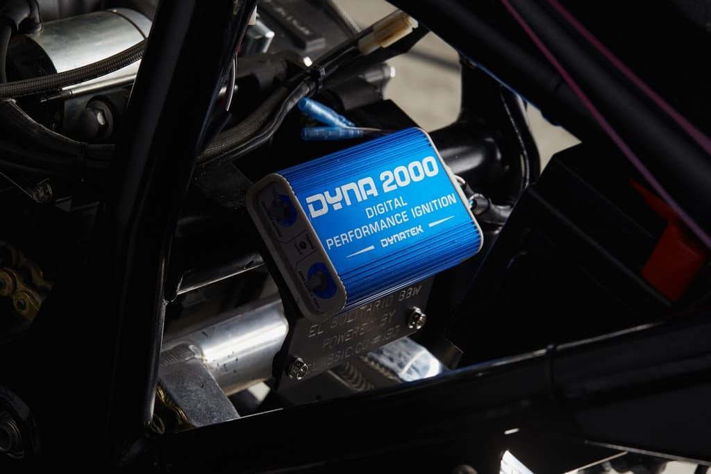 Yamaha XJR1300 Big Bad Wolf El Solitario Centralina