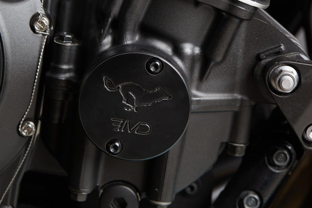 Yamaha XJR1300 Big Bad Wolf El Solitario Logo Lupo