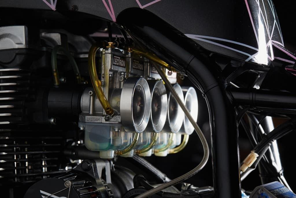 Yamaha XJR1300 Big Bad Wolf El Solitario Motore Dettaglio