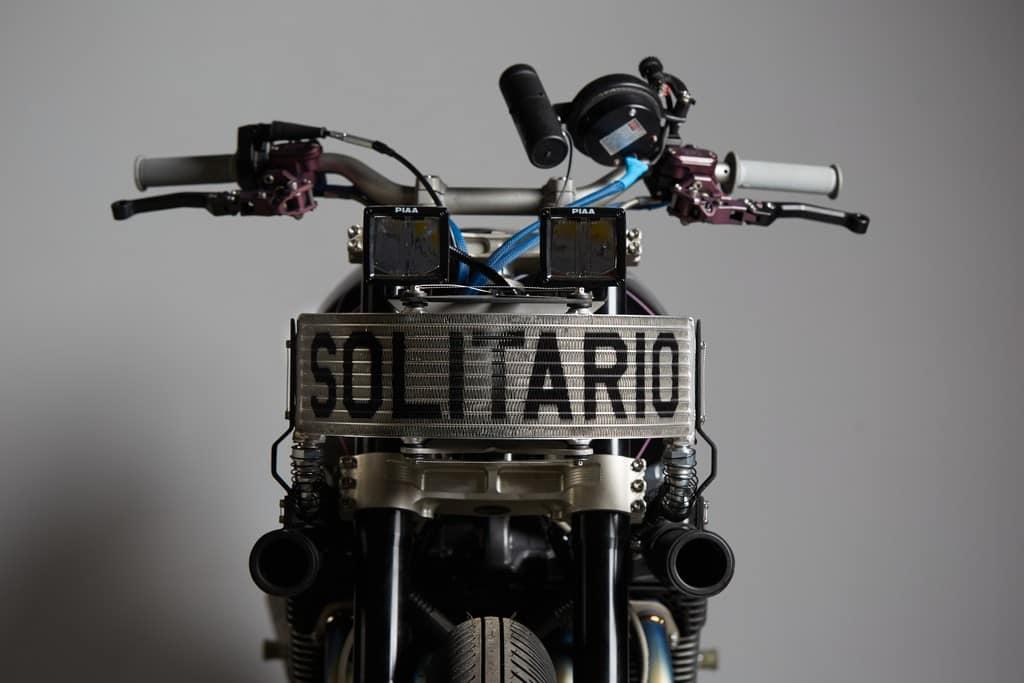 Yamaha XJR1300 Big Bad Wolf El Solitario Serbatoio