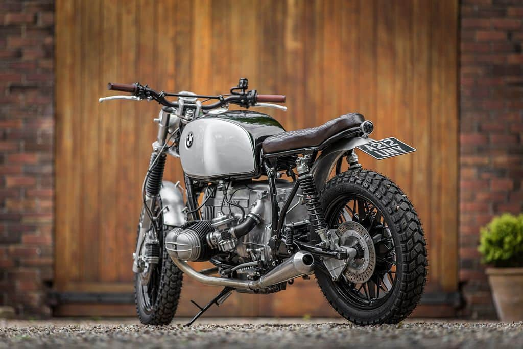 BMW R80 The Vincent Tre Quarti Posteriore