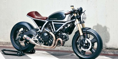 Ducati Scrambler Holographic Hammer Hero Tre Quarti