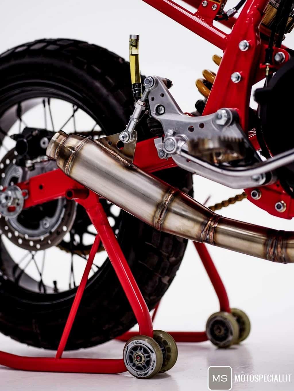 Honda CB750 Tracker HGC Scarico