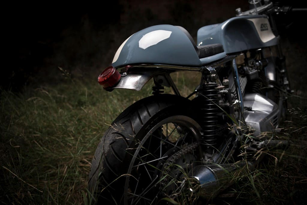Moto Morini 350 K2 AdHoc Coda