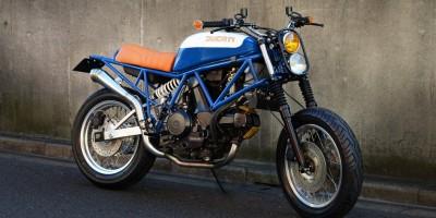 Ducati 750 Scrambler Speedtractor
