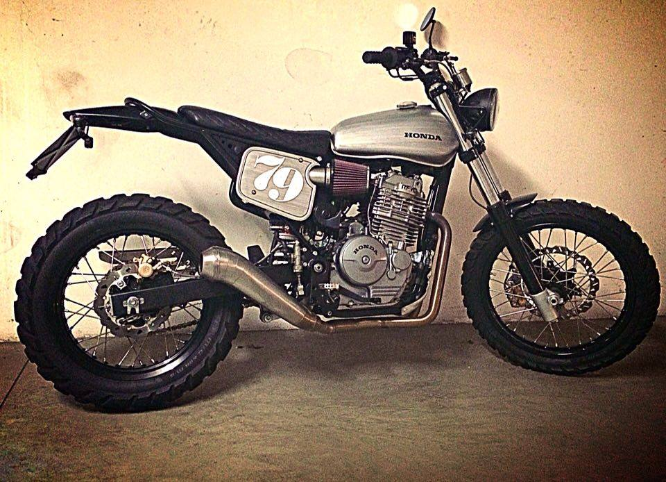 Honda Montesa Slr 650 The Seventynine By Federico