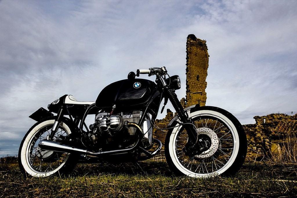 BMW R 100 Benqueen Retrocustombikes Lato Destro