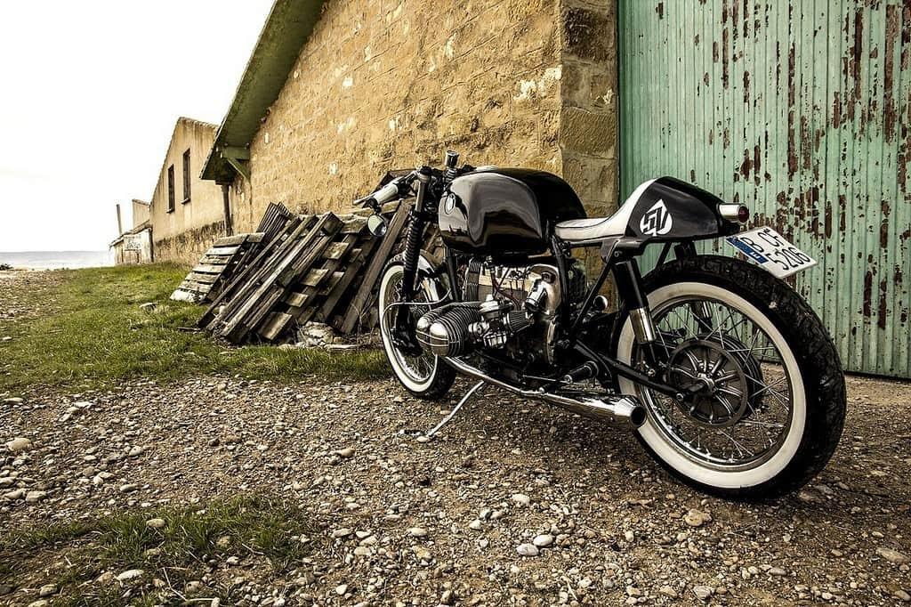 BMW R 100 Benqueen Retrocustombikes Lato Sinistro