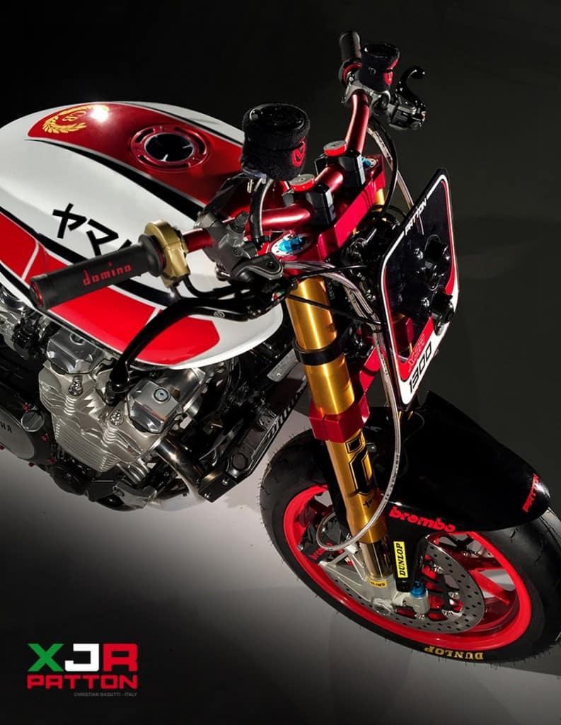 Yamaha XJR 1300 Patton Manubrio