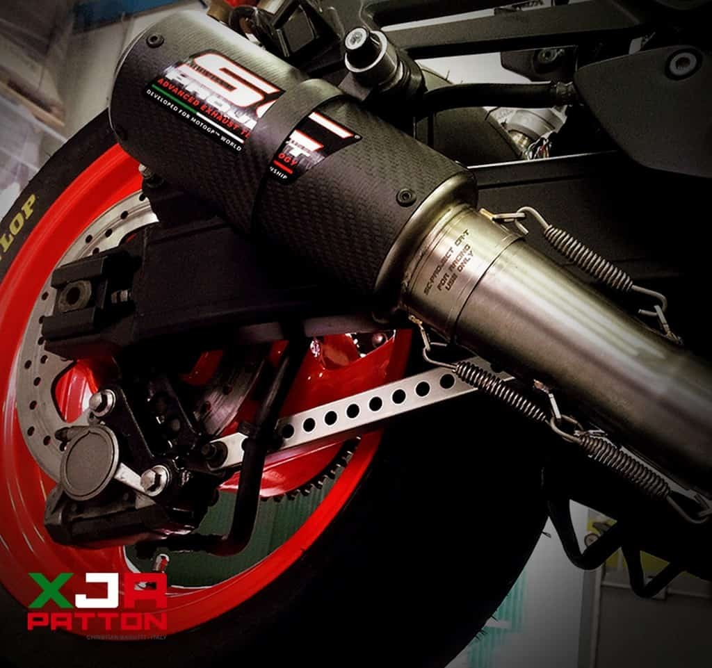 Yamaha XJR 1300 Patton Scarico
