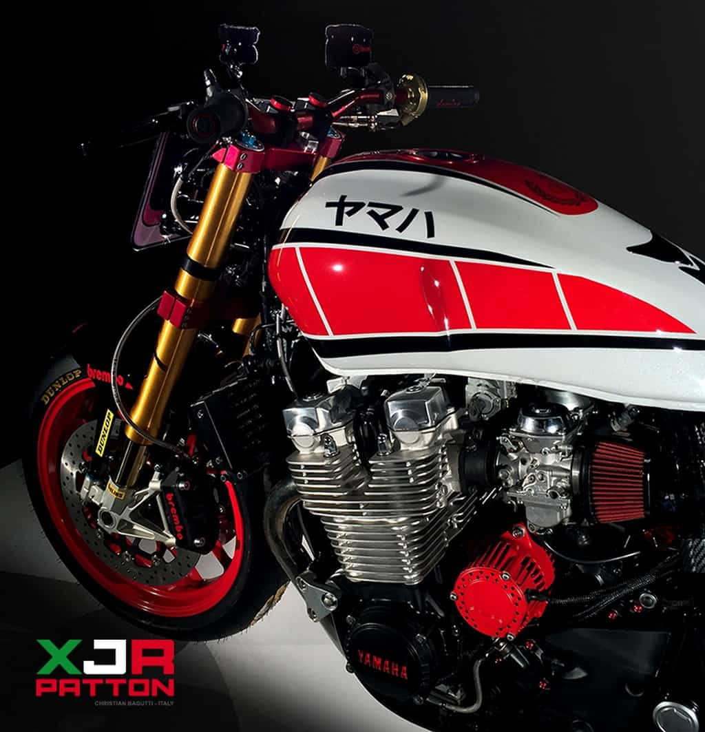Yamaha XJR 1300 Patton Sella Lato