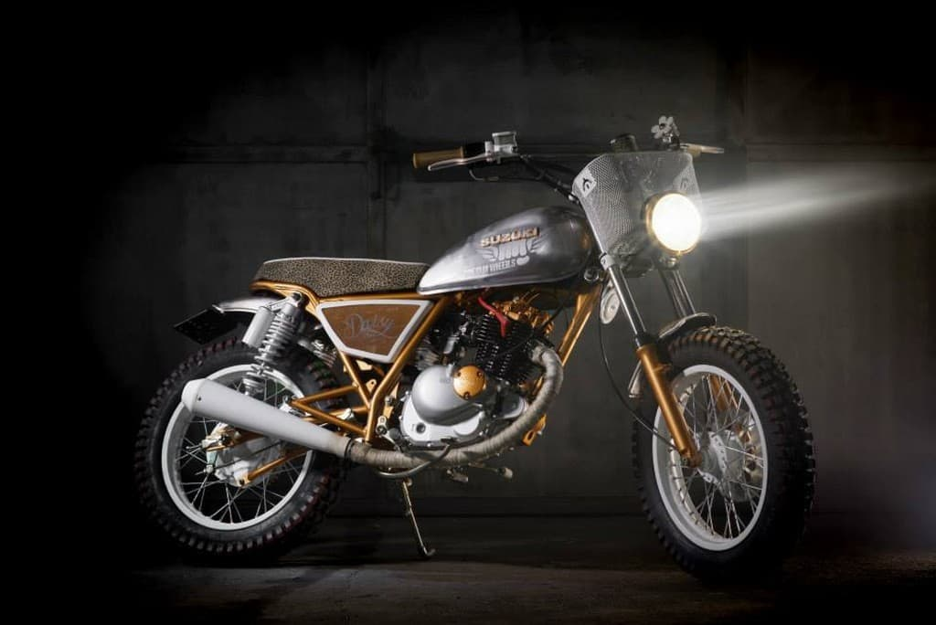 Suzuki GN125 Daisy by Dream Wheels Heritage