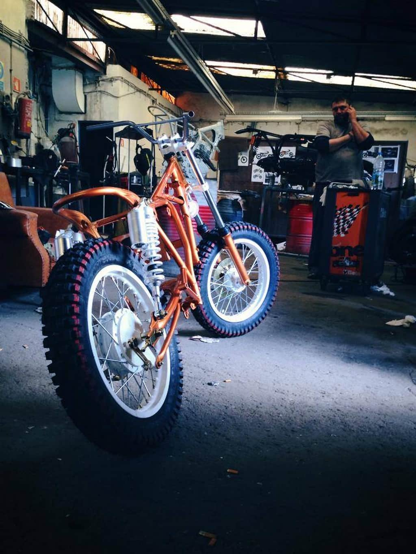 Suzuki GN125 Daisy by Dream Wheels Heritage Produzione