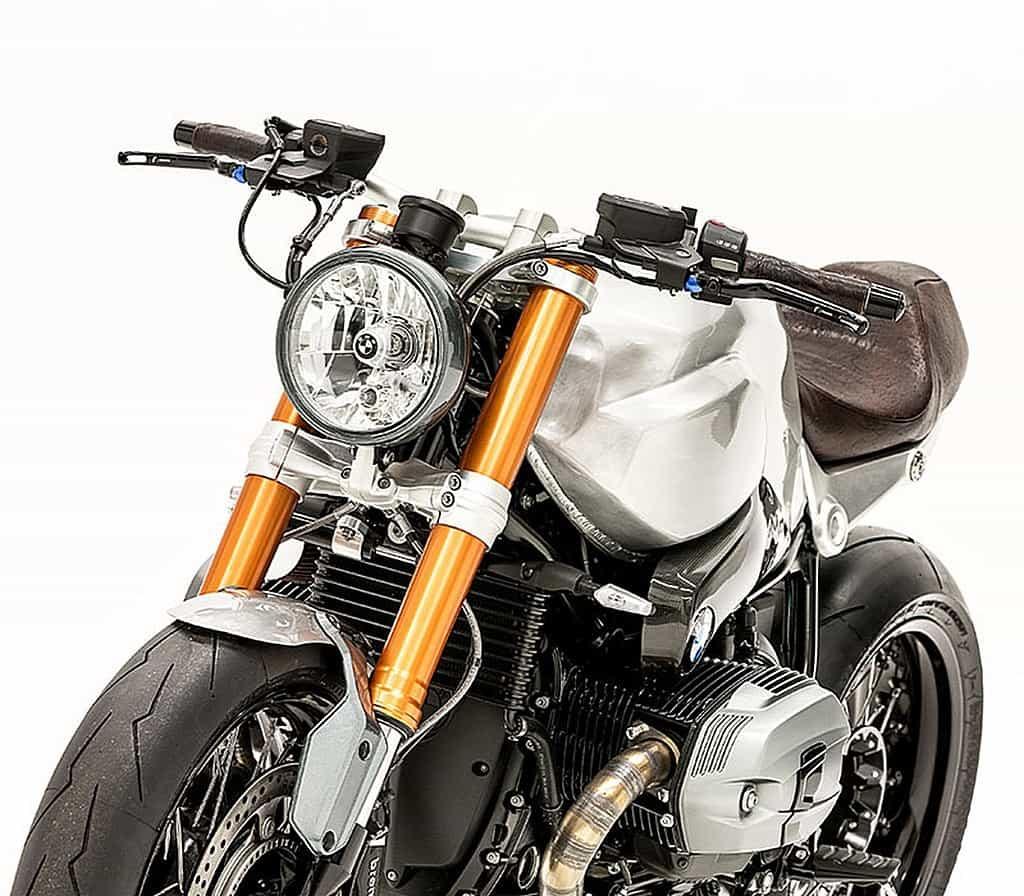 BMW R Nine T Elegant Bastard by Smokin Motorcycle Fanale