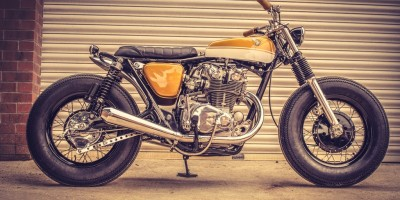Honda CB 450 Bobber Down e Out Cafe Racers