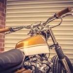 Honda CB 450 Bobber Down e Out Cafe Racers Serbatoio