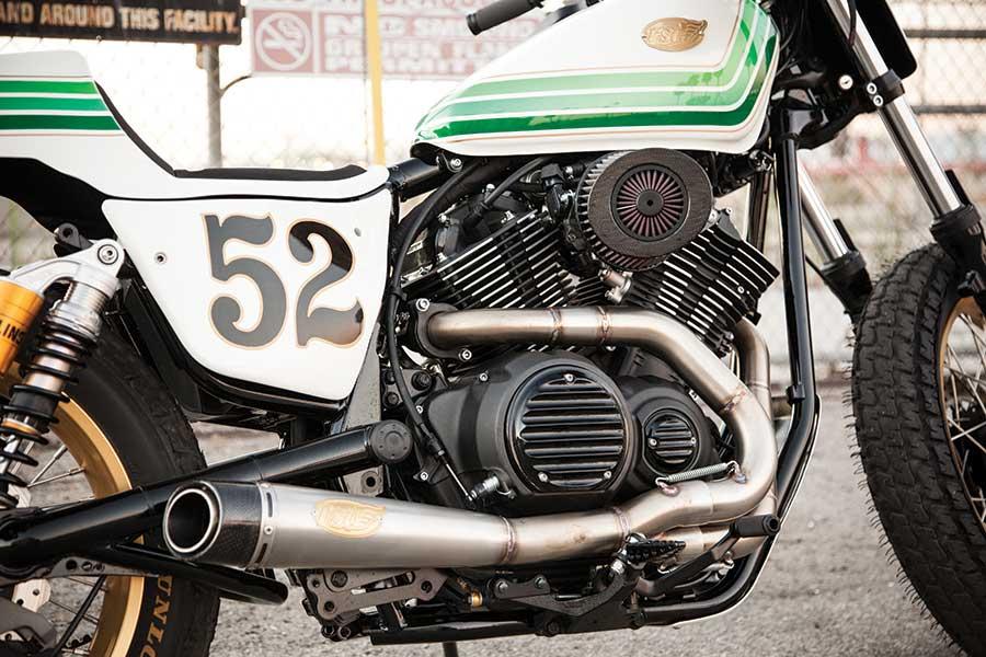RSD Yamaha Bolt Scarico