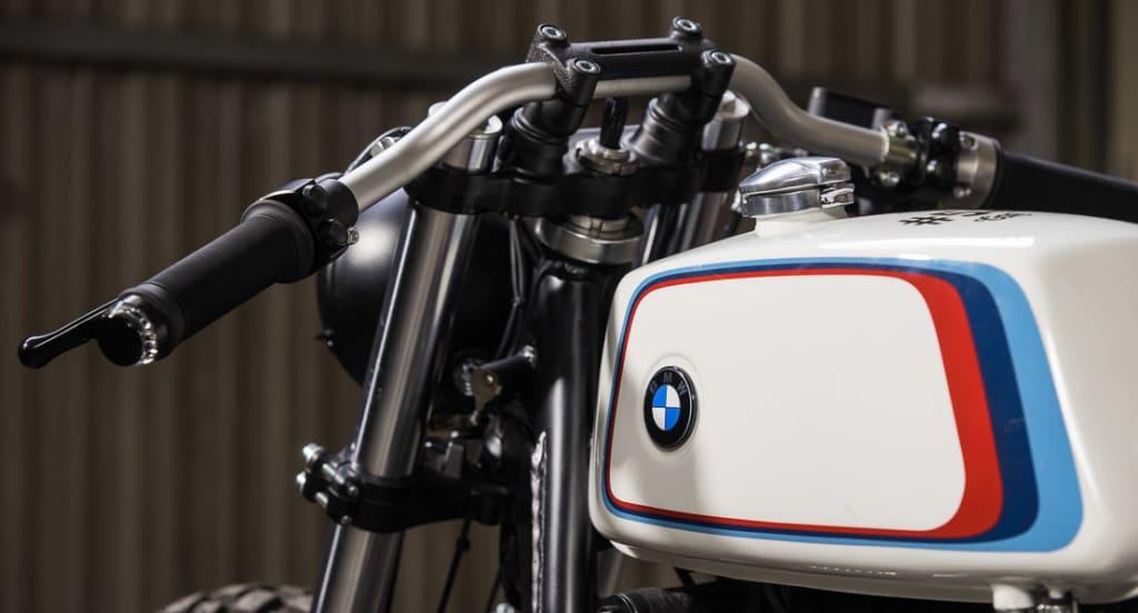BMW R100 CRD 58 Dettaglio Serbatoio