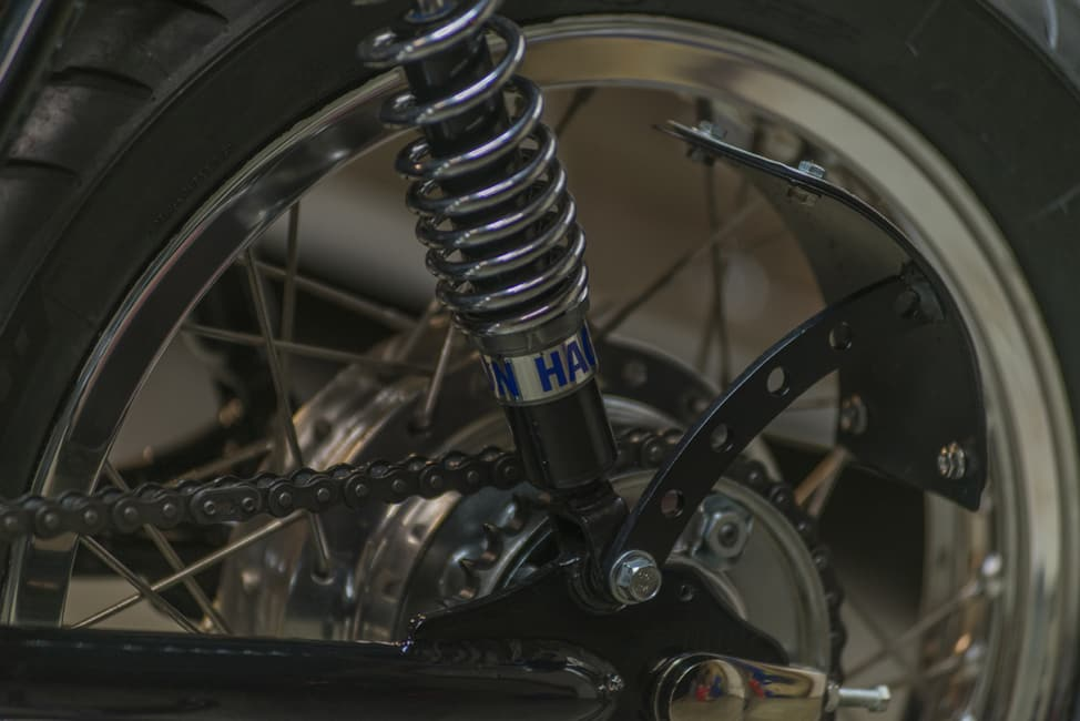 Kott Motorcycle UK 550 Dettaglio Sospensione