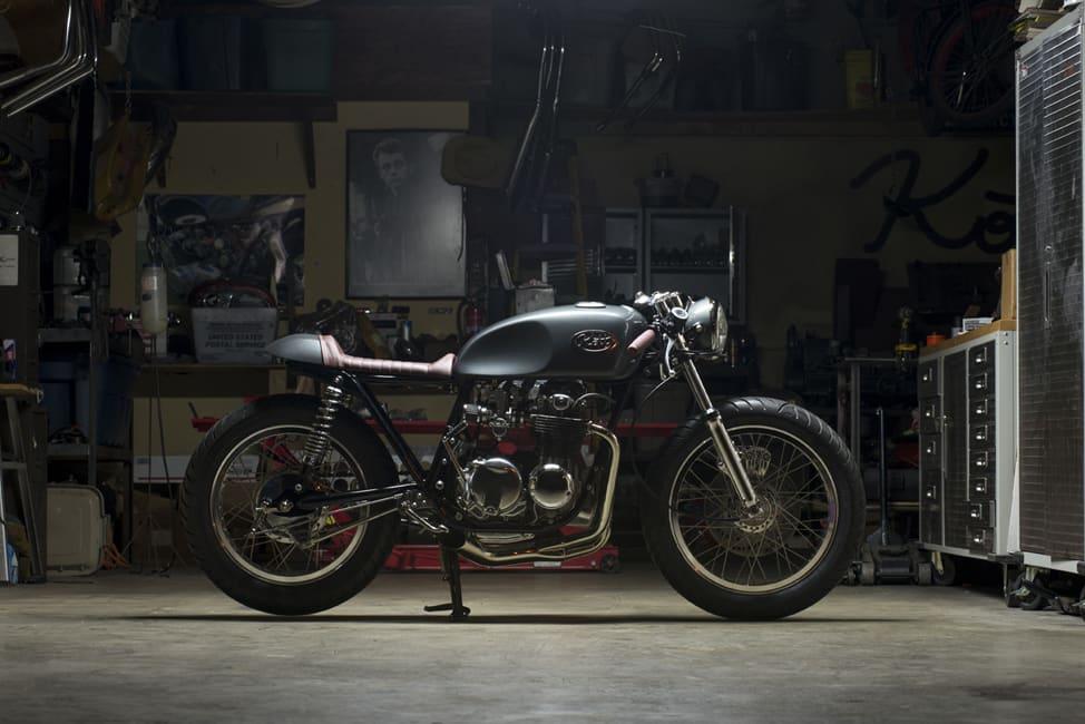 Kott Motorcycle UK 550 Notte