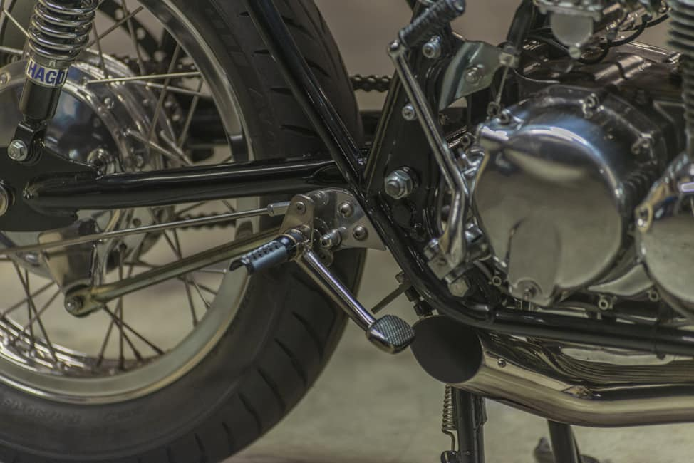 Kott Motorcycle UK 550 Pedane
