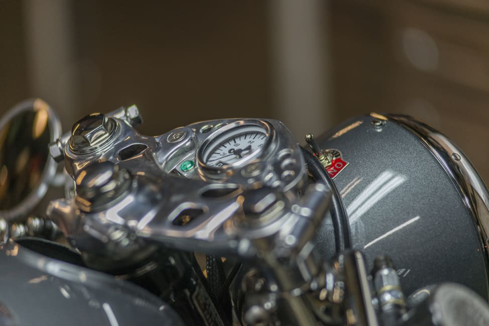 Kott Motorcycle UK 550 Tachimetro