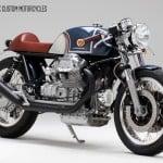 Moto Guzzi Le Mans KaffeMaschine 17 Tre Quarti