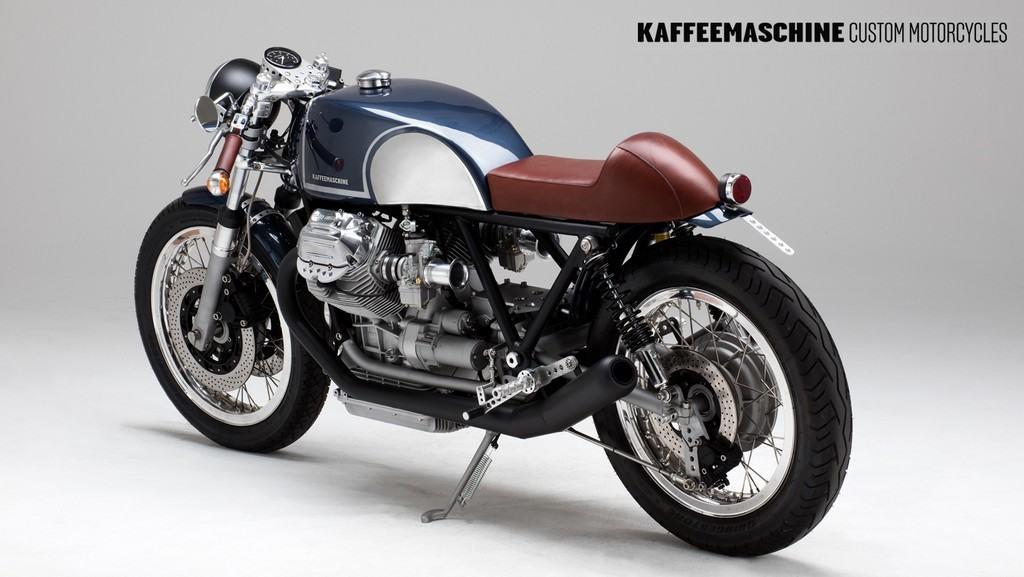 Moto Guzzi Le Mans KaffeMaschine 17 Tre Quarti Posteriore