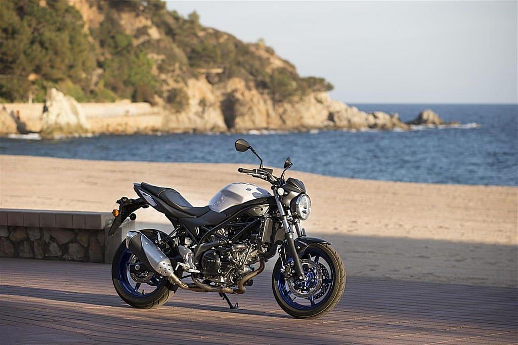 Suzuki SV650 ABS Lato