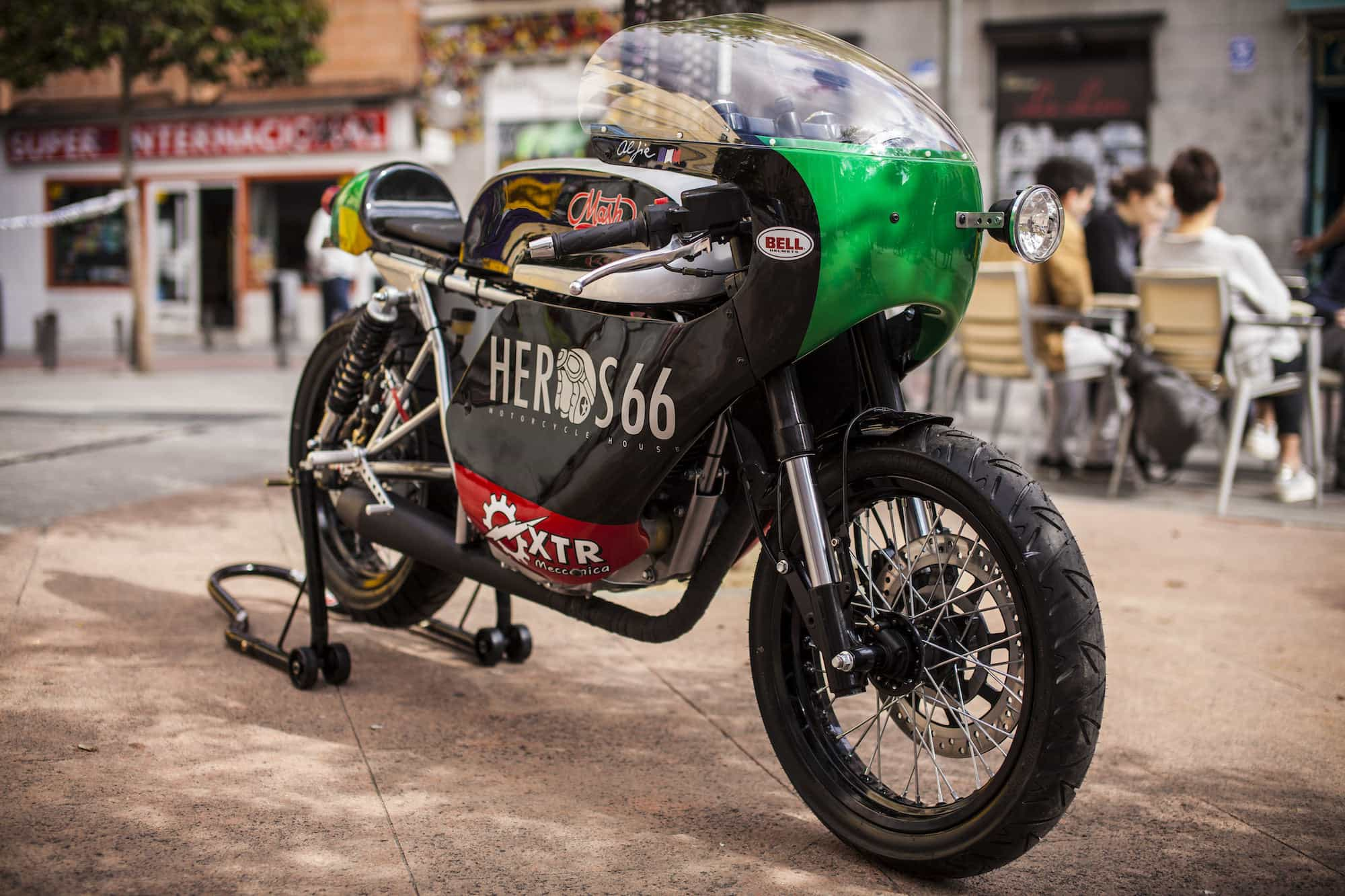 MASH TWO FIFTY CAFE RACER 9