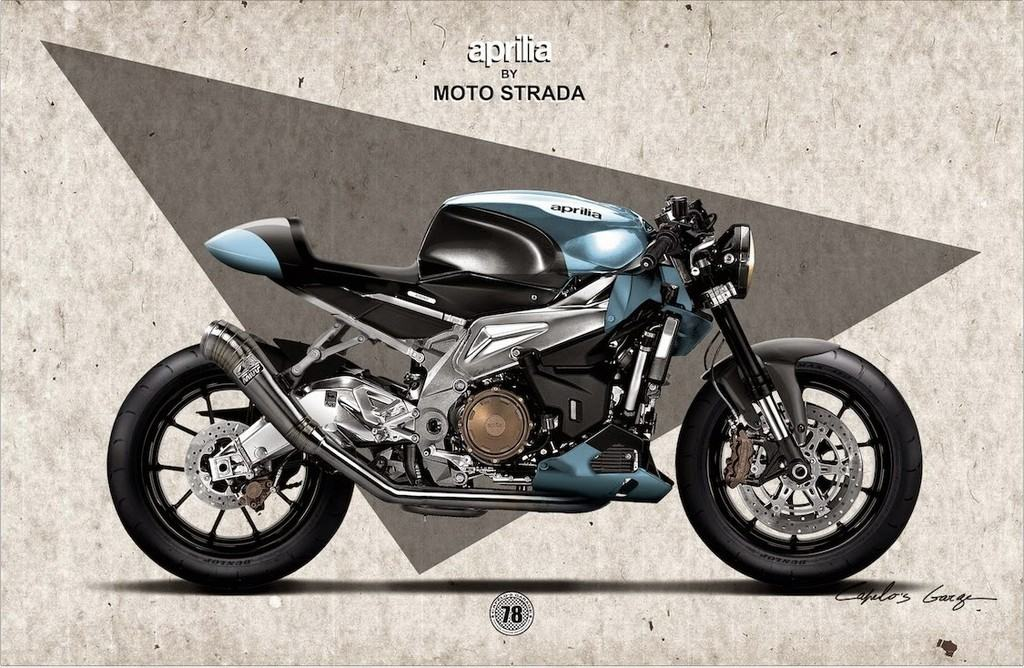 Aprilia Tuono Cafe Racer 02