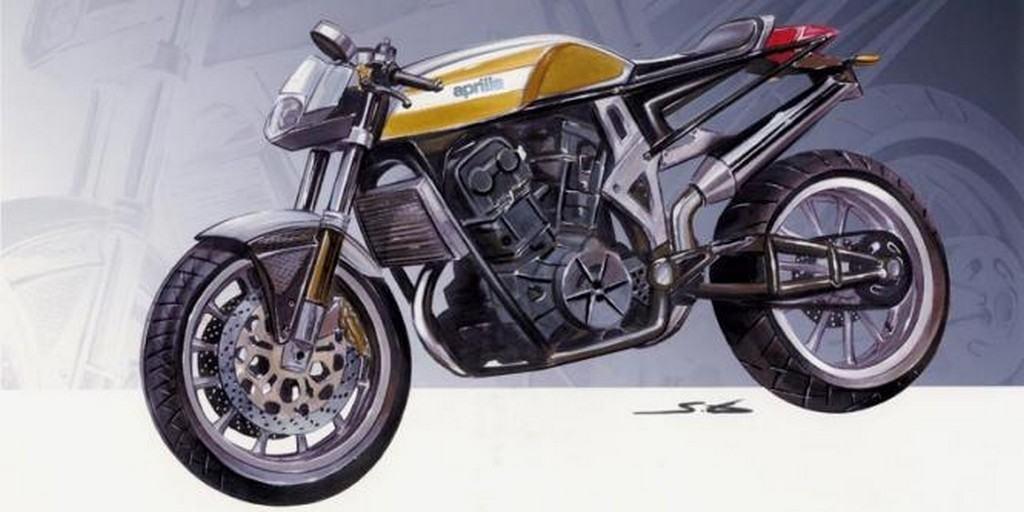 Aprilia Tuono Cafe Racer 06