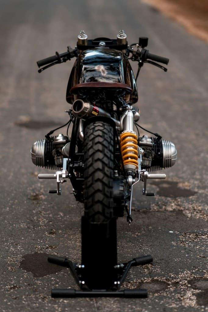 Black Stallion NCT Motorcycle Dietro